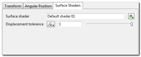 Card - Surface Shaders Tab