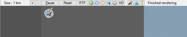The 3D preview top toolbar