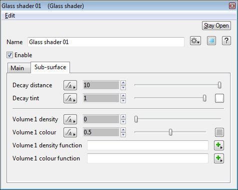 Glass Shader